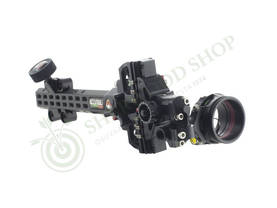 Axcel Sight AccuTouch Pro Slider Carbon with Scope Single Pin - Taljajousen tähtäimet - 110511-1000 - 1