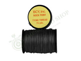 BCY Nock Point Tying Thread (Black) - Jännemateriaalit ja punoslangat - 101329-1000 - 1