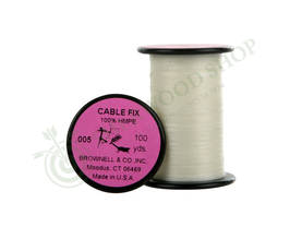 Brownell Serving Cable Fix 100 yards 0.005 - Jännemateriaalit ja punoslangat - 101321-1000 - 1