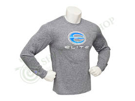 Elite Archery Long Sleeve Men Dry Fit Charcoal - Paidat, hupparit, takit, huivit, hihat,  - 110185-1000 - 1