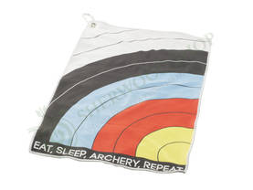 Socx Towel Eat Sleep Archery Repeat - Paidat, hupparit, takit, huivit, hihat,  - 110705-1000 - 1