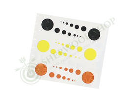 Specialty Archery Scope Circles + Dots Black, Orange and Yellow - Scopet ja tarvikkeet - 100889-1000 - 1