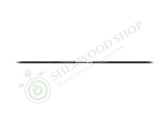 Easton Shaft X10 - 12 kpl - Alu-hiilikuitu - 102260-1000 - 1