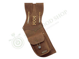Neet Quiver T-2595 LH Brown - Nuoliviinet - 101936-1012 - 1
