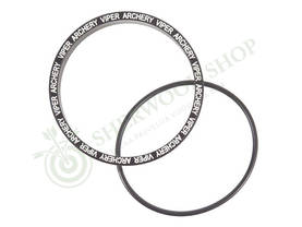 "Viper Retainer + O-Ring 1 3/4"" Black - Scopet ja tarvikkeet - 105607-1012 - 1"